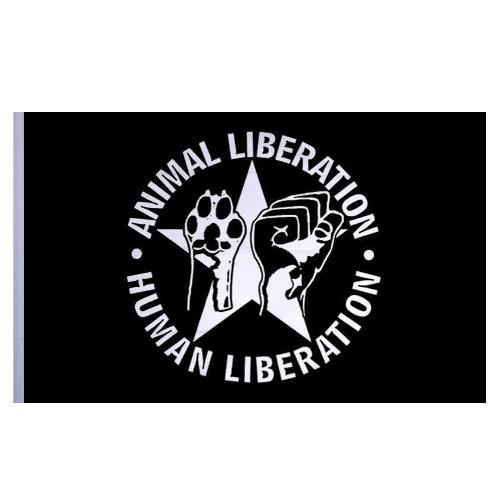 Animal Liberation - Flagge