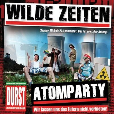 Wilde Zeiten - Atomparty CD