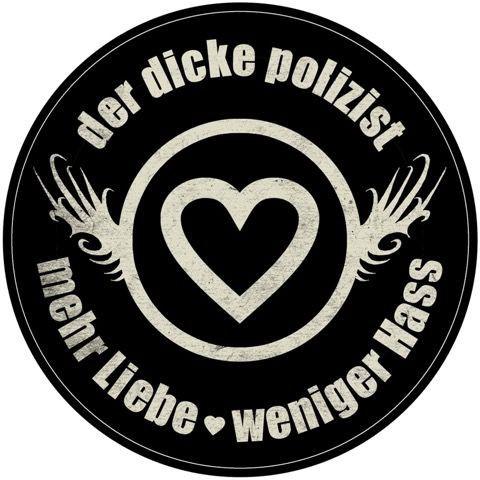 """DDP - Aufkleber """"Mehr Liebe - Weniger Hass"""""""