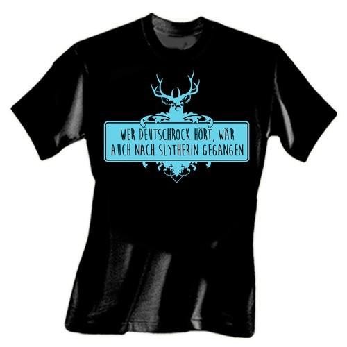 Wer Deutschrock hört... T-Shirt