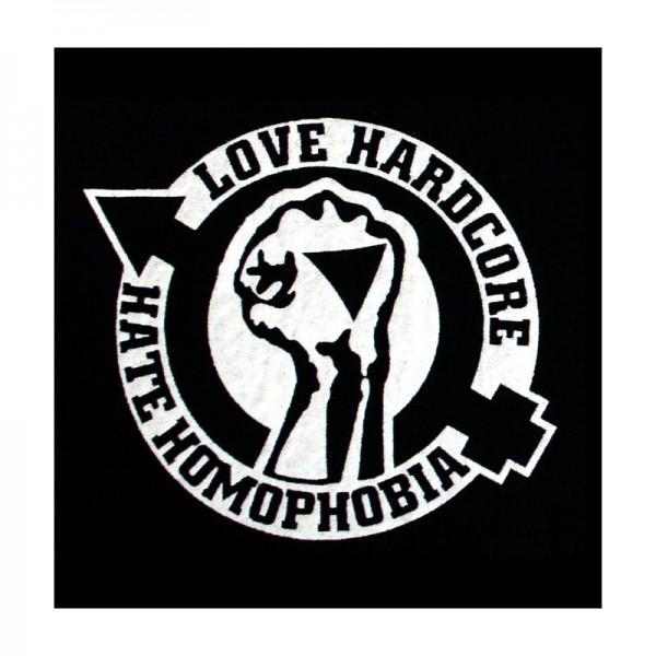 Love Hardcore Aufnäher
