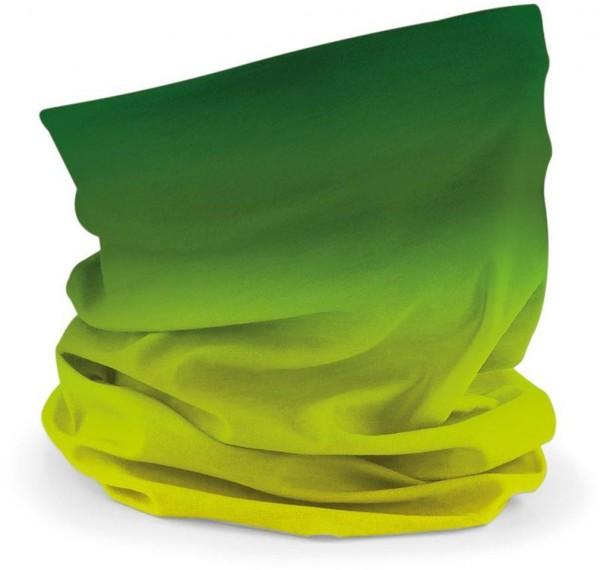 Schlauchschal grün ombré
