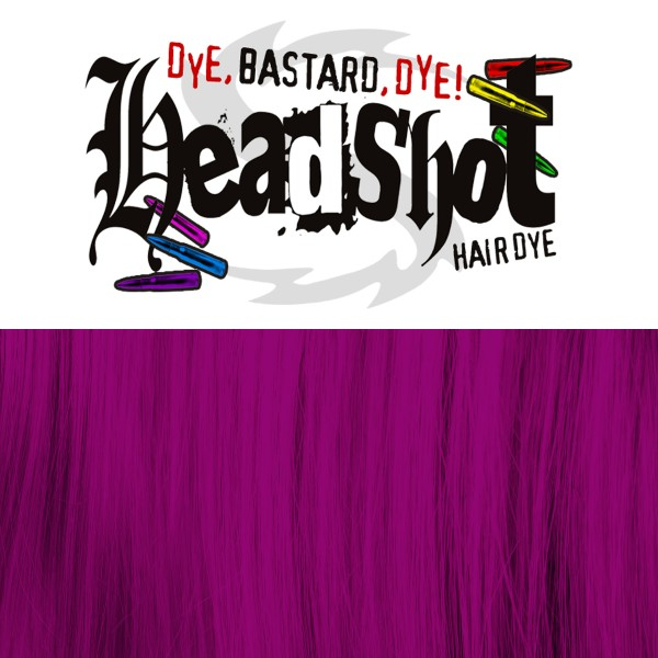 Burgunde Haarfarbe Headshot Bizarre Burgundy, Semi-permanente Haartönung 150 ml