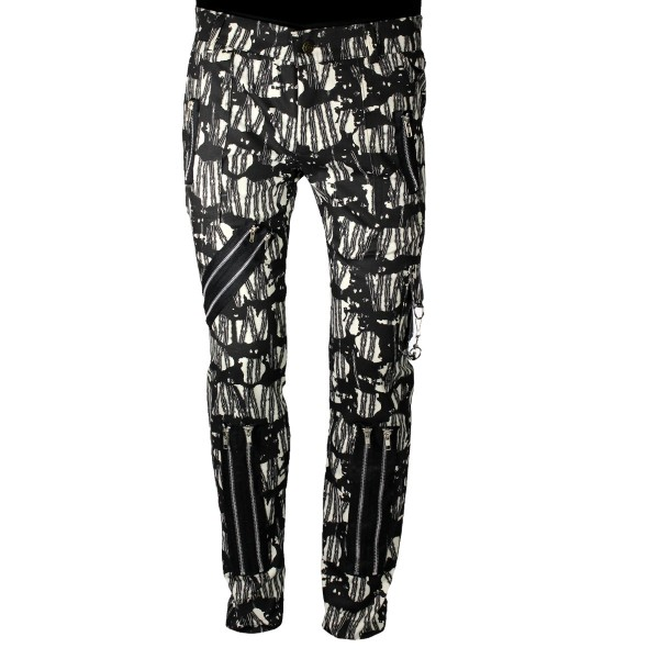 Chaos Punk Barbwire Nature Punk Trousers