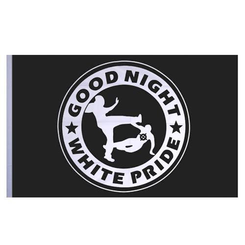 Good Night White Pride - Flagge