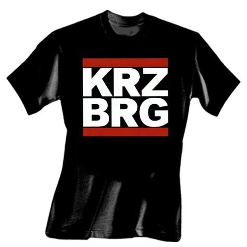 KRZ BRG T-Shirt (schwarz)
