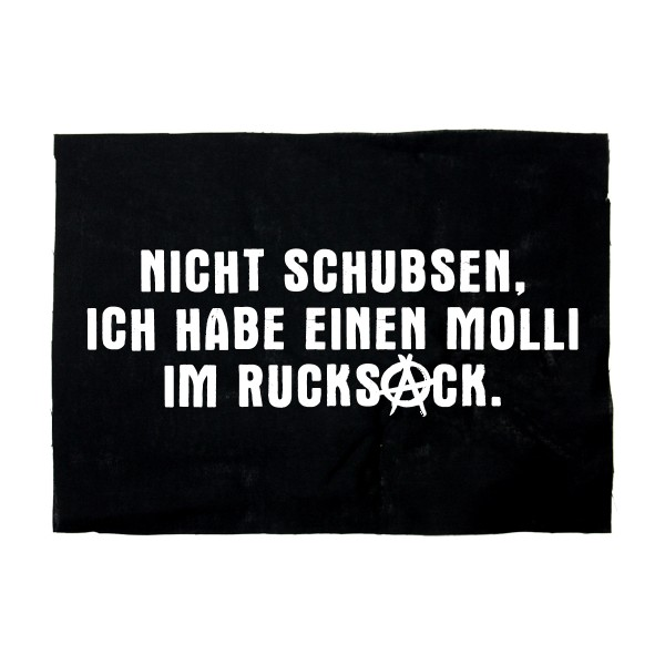 Nicht schubsen - Backpatch