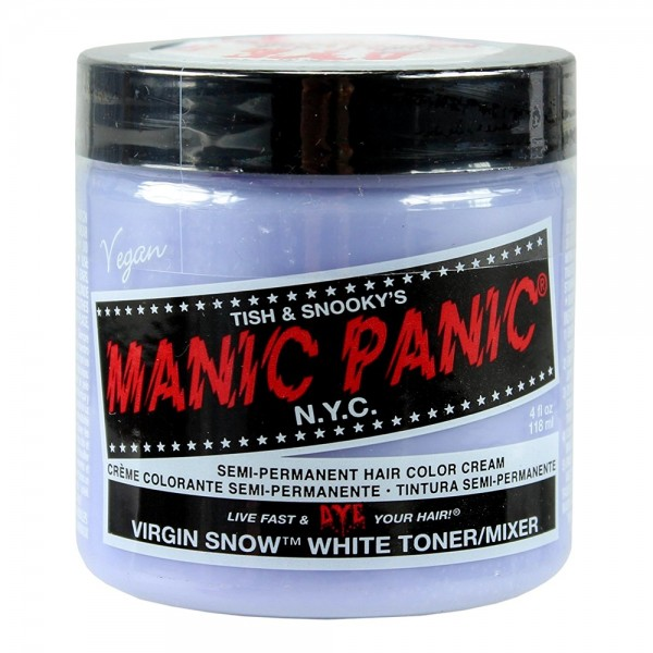 Virgin Snow White Toner Manic Panic